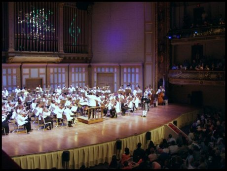 Iain Performing With The Boston Pops At Symphony Hall June 2003 Bruce Hangen Conducting
